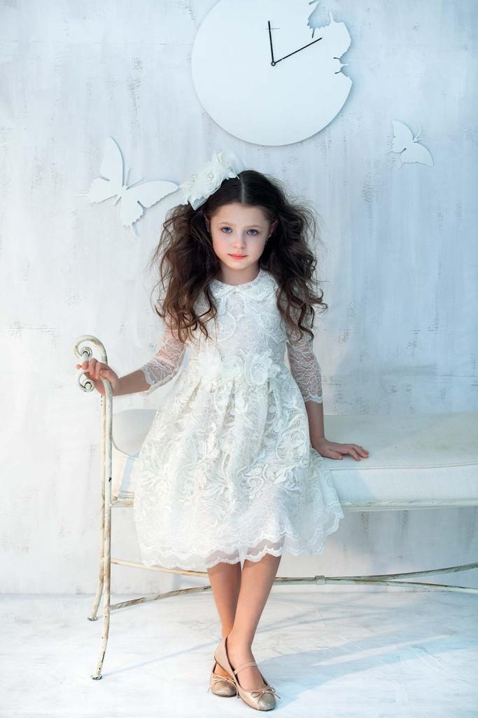 Oryginalna dobrej jakości sukienka komunijna