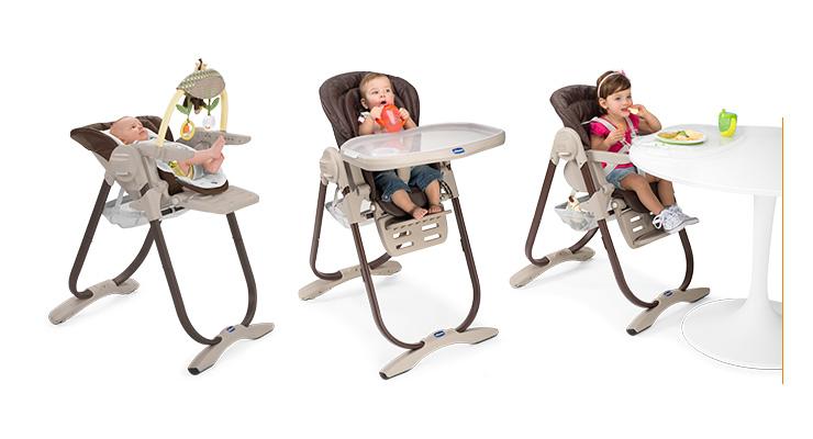 Krzesełko do karmienia i leżaczek w jednym Chicco Polly