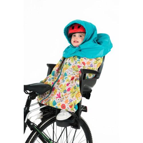 Otulacz do fotelika rowerowego koc
