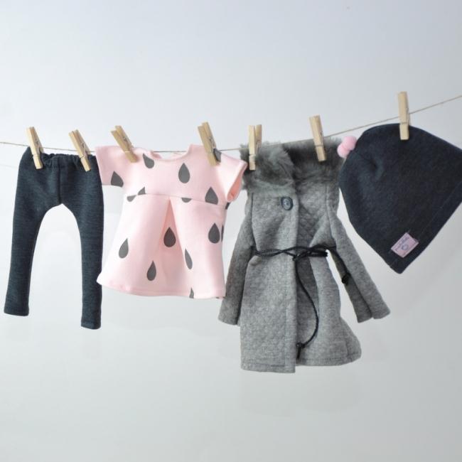 Ręcznie szyte ubranka dla lalek