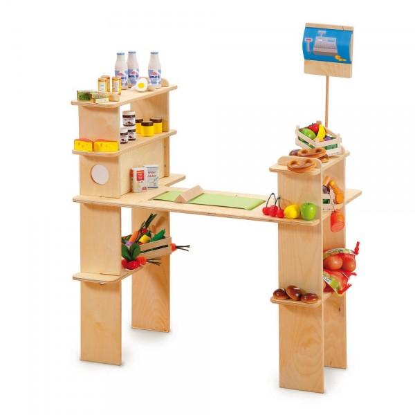 Regał sklepowy do zabawy zabawkowy
