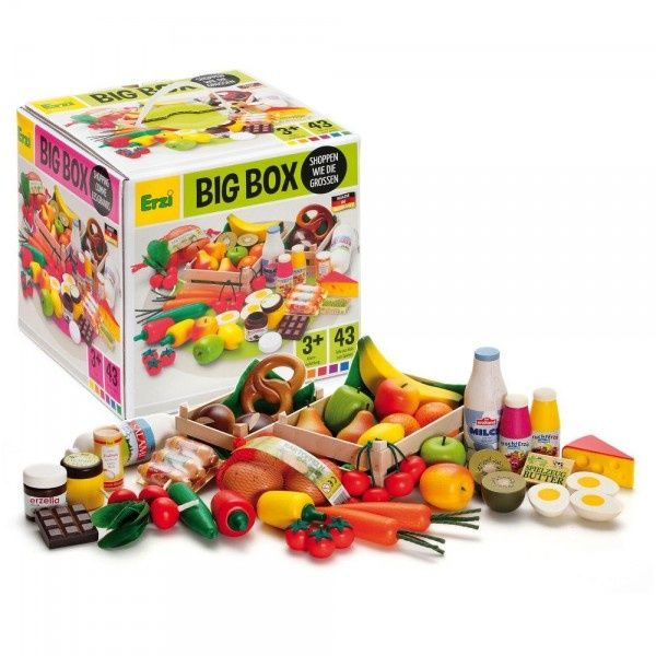 Drewniane owoce i warzywa