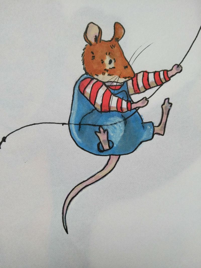 Dziecięcy rysunek Promarkery