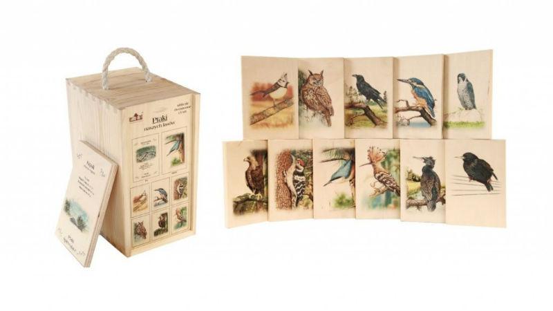 Rozpoznawanie ptaków zestaw deseczki
