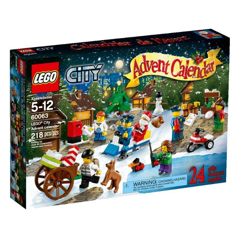 60063-kalendarz adwentowy lego city