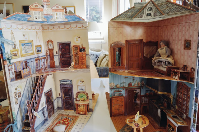 papierowy dom rozkładana książka