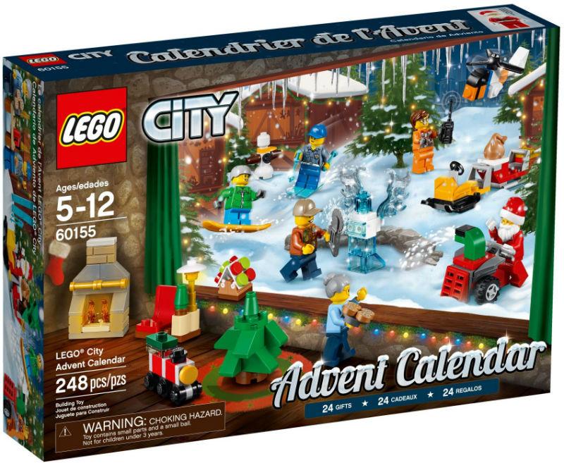kalendarz adwentowy lego city 60155