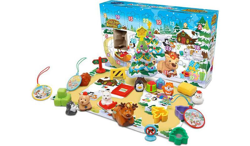 kalendarz adwentowy od 12 miesiaca malych dzieci