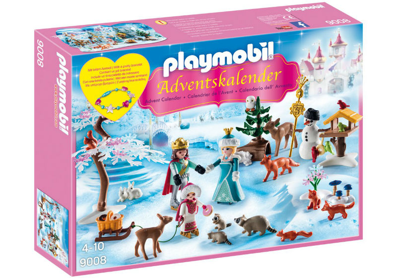 kraina lodu kalendarz adwentowy playmobil