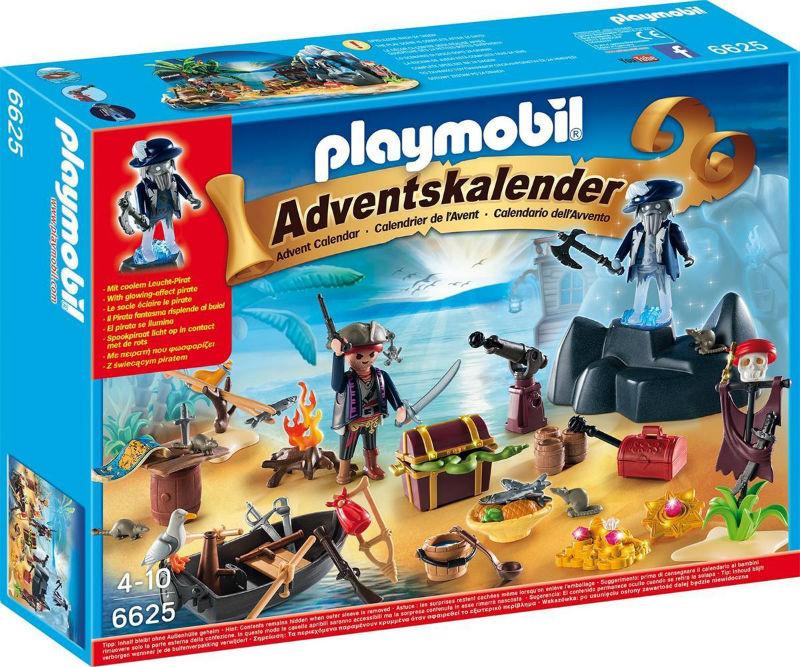 piraci kalendarz playmobil