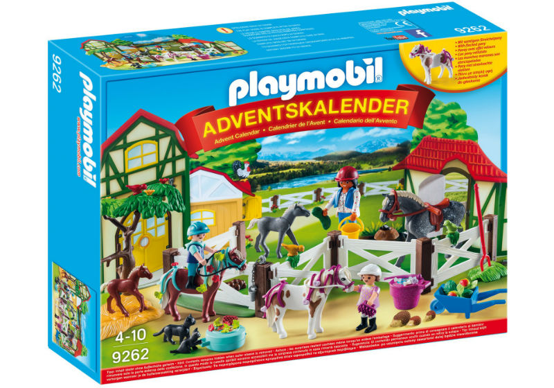 kalendarz adwentowy stajnia playmobil