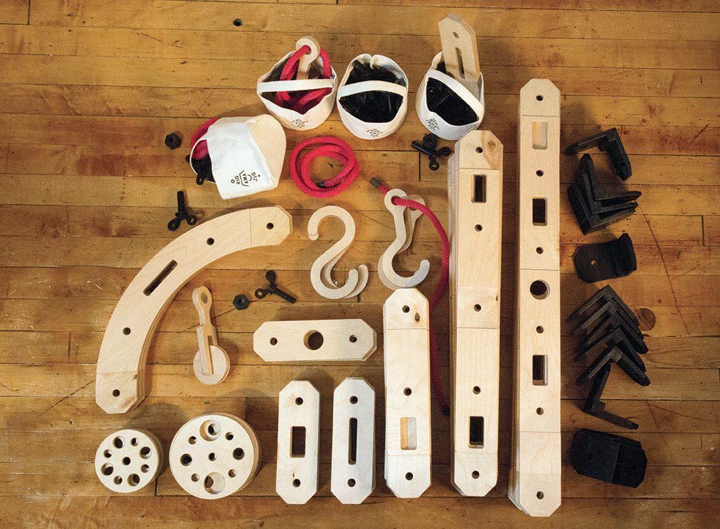 drewniane klocki do skręcania