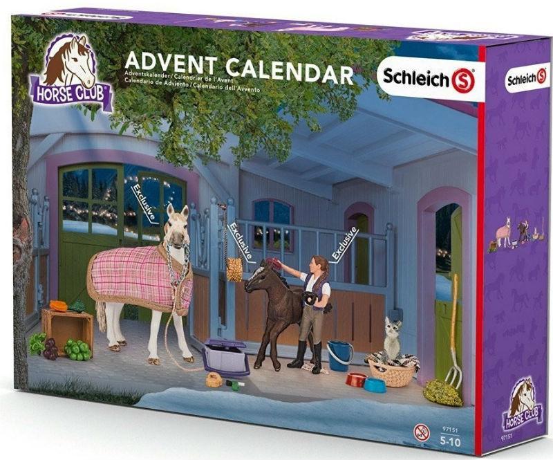 kalendarz adwentowy figurki schleich