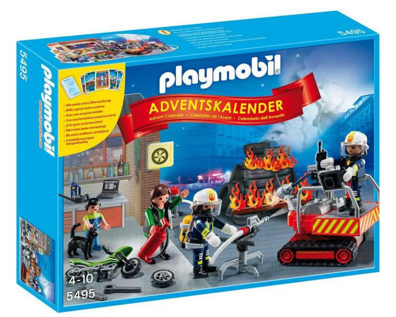 kalendarz adwentowy playmobil straz pozarna