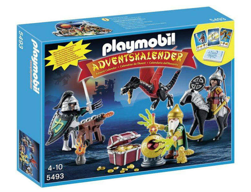 walka o smoczy skarb kalendarz playmobile