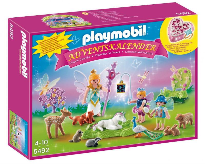 wróżki kalendarz playmobil