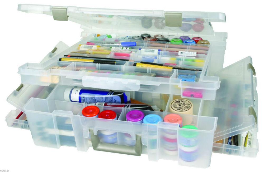 pudełko na przybory plastyczne dla dzieci