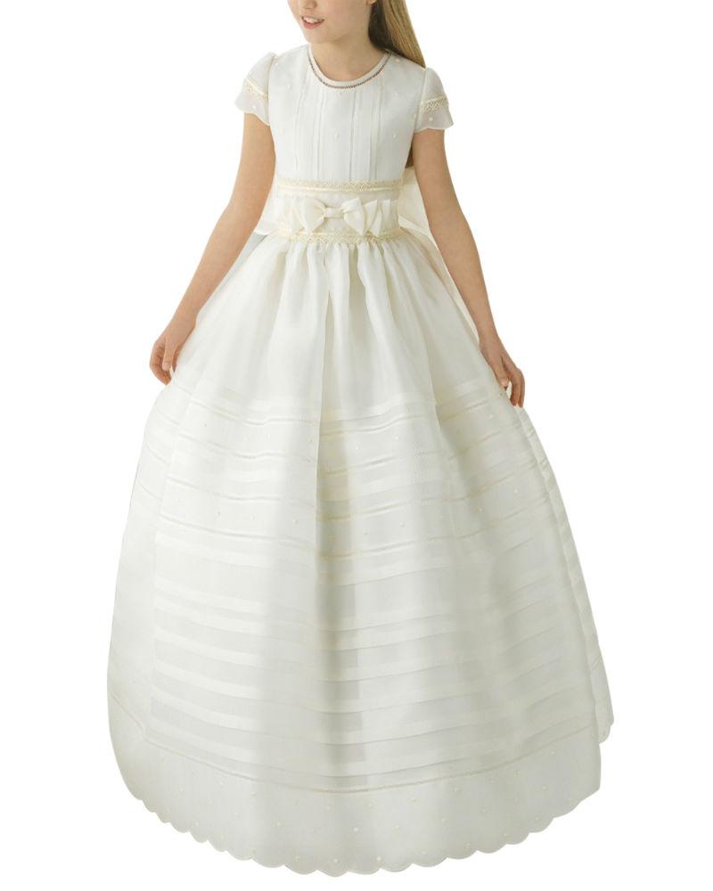 sukienka komunijna długa