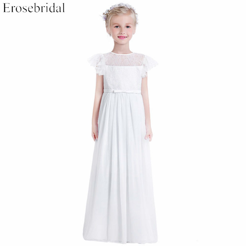 skromna sukienka komunijna