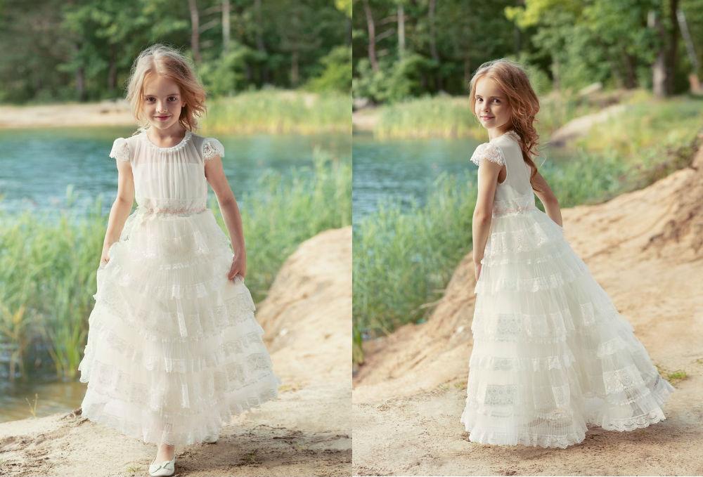 najpiekniejsze sukienki komunijne 2018