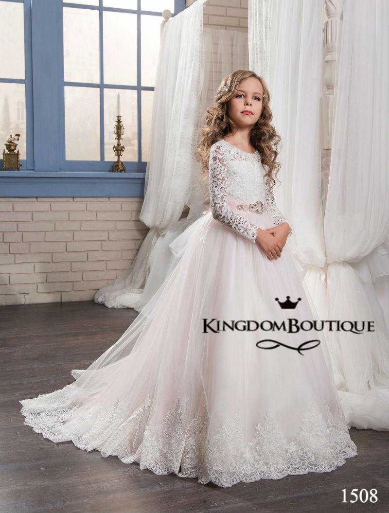sukienka komunijna balowa