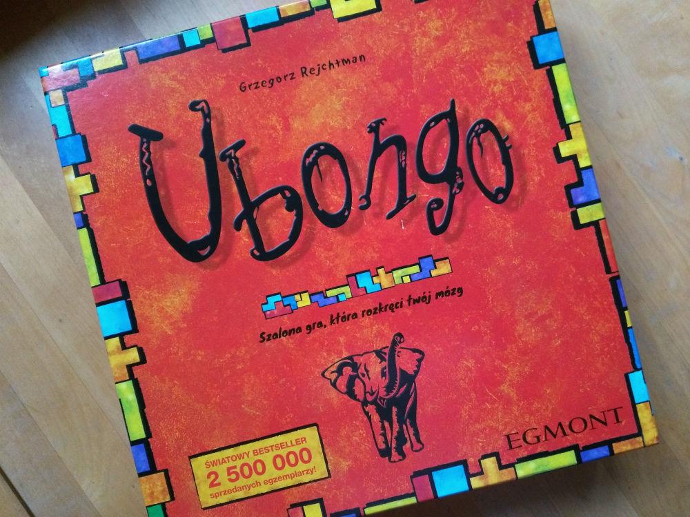gra rodzinna planszowa logiczna ubongo