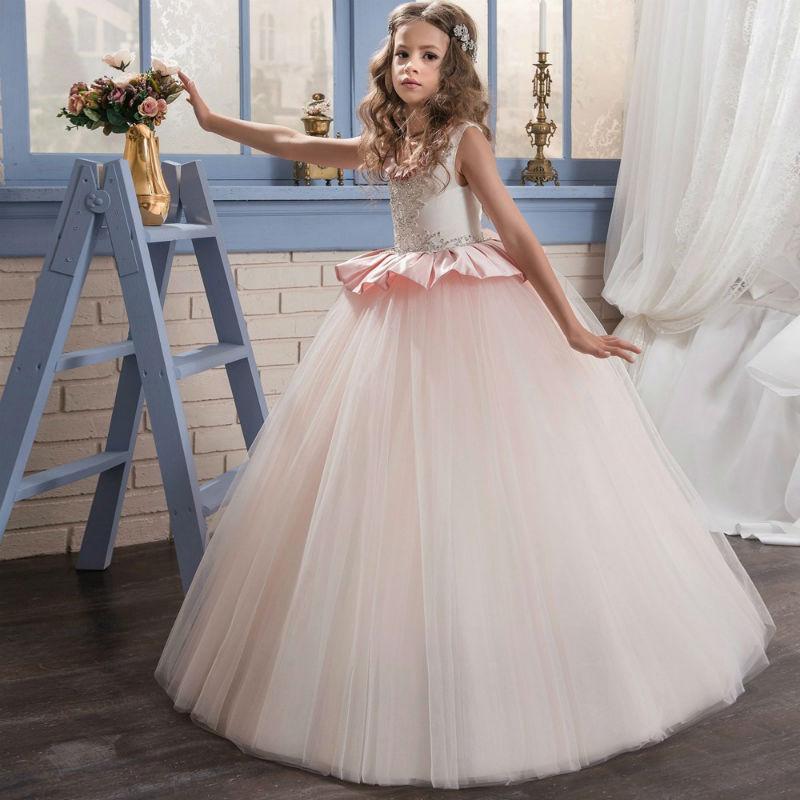 suknia komunijna balowa