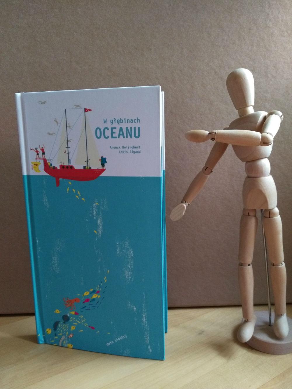 W głębinach oceanu książka pop-up dla przedszkolaka