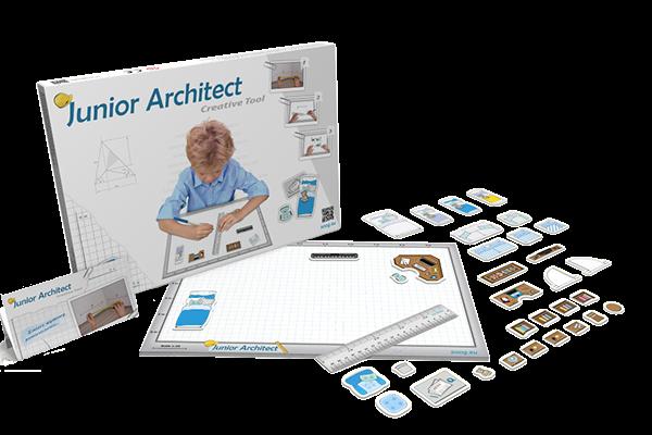 zestaw małego architekta