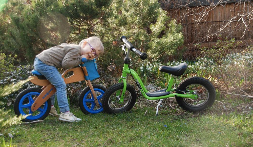 rowerek biegowy metalowy czy drewniany
